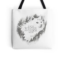 Winter Is Coming Doge Tote Bag
