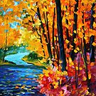 Sounds Of The Fall — Buy Now Link - www.etsy.com/listing/219982890 by Leonid  Afremov