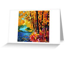 Sounds Of The Fall — Buy Now Link - www.etsy.com/listing/219982890 Greeting Card