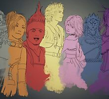 Final Fantasy X by NataPendragon