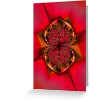 Amor I Love You Greeting Card