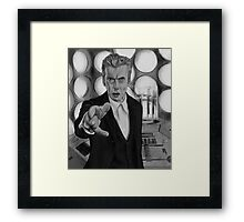 Twelft Doctor- Old Tardis Framed Print
