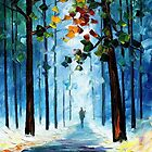 Winter's Smile — Buy Now Link - www.etsy.com/listing/219970634 by Leonid  Afremov
