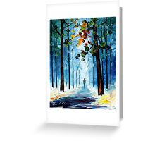Winter's Smile — Buy Now Link - www.etsy.com/listing/219970634 Greeting Card