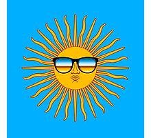 Sun in Shades Photographic Print