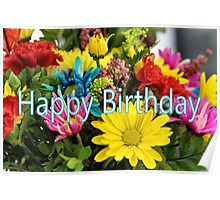Bright and Cheery Birthday Poster