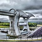 Falkirk Wheel by Alisdair Gurney