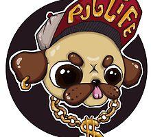 Pug Life (2/2) by Kit Tyler Kazmier