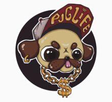 Pug Life (2/2) Kids Clothes