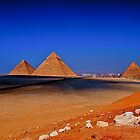 Pyramid Panorama large - HDR by Marc Bowyer-Briggs