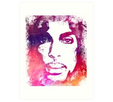 Prince Rogers Nelson - Lotus Flower Purple Art Print