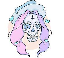 Lovely Skull (1 of 4) by Kit Tyler Kazmier