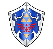 Hylian Shield Photographic Print
