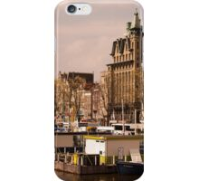 Line Up for a Canal Trip in Amsterdam iPhone Case/Skin