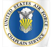 United States Air Force Chaplain Service Poster