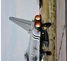 Typhoon Take Off by SteveGurman