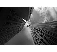 Sky-scraped Photographic Print