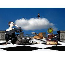 The Broken Music Box Photographic Print