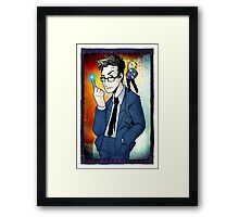Tenth Doctor Framed Print
