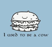 I used to be a cow burguer by Jxuky