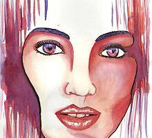 Red hot woman by Heathergates