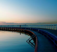 Geelong Pier  by Lukas Carruthers