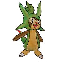 Cheeky Chipmunk Chespin by link-389
