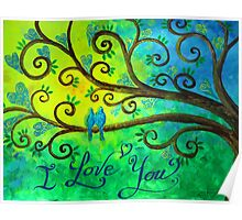 I love you hearts by Jan Marvin Poster