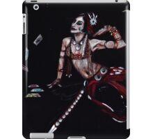 the card teller iPad Case/Skin