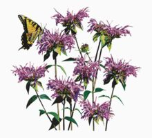 Tiger Swallowtail on Bee Balm Kids Clothes