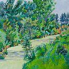 Landscape with duckweed by Vitali Komarov