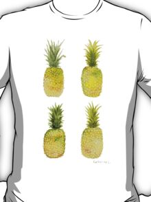 Four Mini Pineapples T-Shirt
