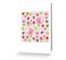 Jardin de l'Amour Greeting Card