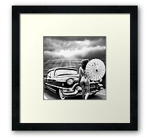 Queen of The Highway 2 Framed Print