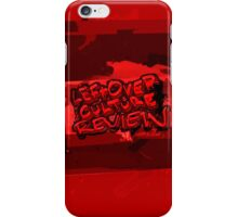 Leftover Culture Review Logo iPhone Case/Skin