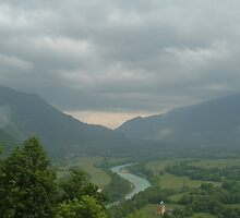 Above Kobarid, Slovenia by CarysDB