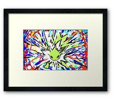 Shiny Jolteon   Shock Wave Framed Print