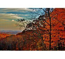 Autumn Horizon Photographic Print