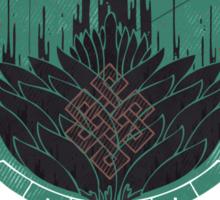Black Dahlia Sticker