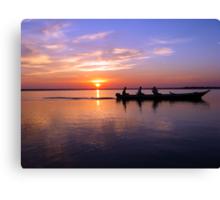 Sunrise over the Amazon Rainforest Canvas Print