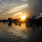 The Setting Sun by Graham Ettridge