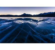 Ice Crater Photographic Print