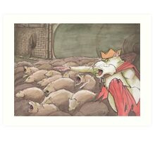 King Rat Art Print