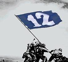 12th Man Raise the Flag by brokenboxcultR