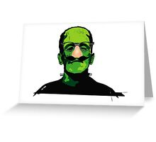 FRANKENSTEIN IN DISGUISE Greeting Card