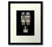 The Twins and Mum Framed Print