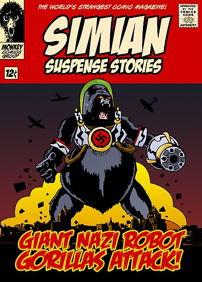 Simian Suspense Stories by Ross Robinson