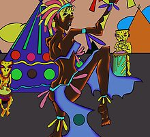 The Abstract Dancer by Shaylea Gallagher