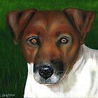 """Otis'"" Jack Russell Terrier by thatdogshop"
