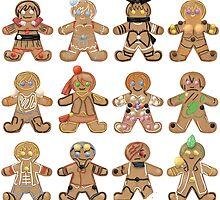 Gingerbread RWBY - All Teams by thekingkez